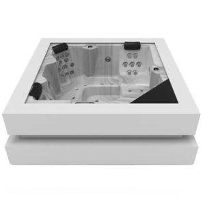bain tourbillon design Spa 5 places - Cuber ergo - Annecy Haute savoie
