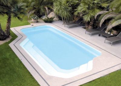 Installateur de piscines coques polyester en Haute-Savoie